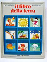 """Cartonato """"Il libro della Terra"""" 1977 Piero Dami Editore - Il libro dei Quiz"""