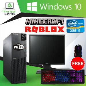 Full Gaming PC Bundle i5 2nd Gen, 8GB RAM, 500GB HDD PC Monitor Keyboard & Mouse