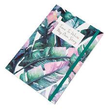 Floral Story Bullet Journal A5 100 Sheet 5mm Dot Grid Note Sketch Book Art Gift