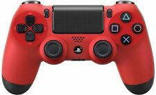 PS4 Magma Red Custom Modded Controller Quick Scope Sniper Breath Auto Run