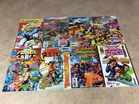X-FORCE ANNUAL #1,2,3,95,96,97,98,99 LOT OF 8 NM COMIC 92-99 MARVEL