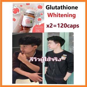 Glutathione capsules pills wrinkle whitening lightening love skin bleach L-gluta