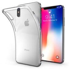 iPhone X 2017 GEL Case Cover Genuine Spigen Liquid Crystal Slim Clear Protection