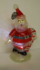 Dept 56 Lighted Santa With Candy Cane 4032916 Mint with Tag