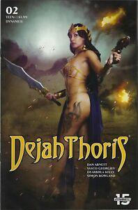 "Dejah Thoris # 2 Tasha Cosplay Photo Variant Cover ""E""  !!!   NM"