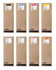 8 Original Tinte Epson SureColor SC-S70600 / T7131 T7132 -T7138 700ml Cartridges