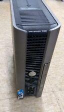 Desktop SLIM TOWER Computer Dell Optiplex 760 Windows Vista & HDD