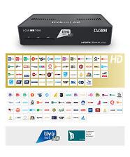 DECODER SATELLITARE TV SAT I-CAN S490 HD con tessera tivusat  HD Gold ORO USB_1