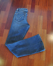 Bebe Jeans Boot Cut with Crystals RN 86017 Mid Rise Size 29 EUC