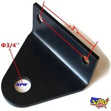 "Heavy Universal 3"" CENTERS  Zero Turn Mower Trailer Tow Hitch -"