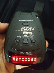 Beltrionics Vector 928i radar detector Red Screen international 'Strelka' USED