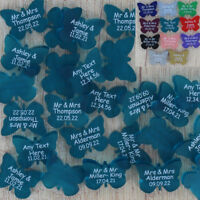 Butterfly Wedding Favours Personalised Mr & Mrs Butterflies Table Decorations