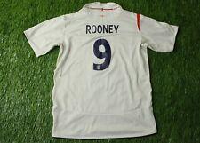 ENGLAND NATIONAL TEAM ROONEY 2005/2007 FOOTBALL SHIRT HOME UMBRO ORIGINAL YOUNG