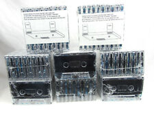Blank 90 Minute Cassette Tapes, 8 Sets of 10 - New, Free Shipping