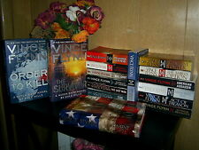 Complete Set VINCE FLYNN ~ MITCH RAPP Series 1-16  THE SURVIVOR ~ ORDER TO KILL