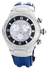 Joe Rodeo Men's BStainless Steel Diamond Bezel & Dial Watch RJ00154