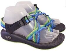 CHACO  ZX2  WOMAN BLUE/GREEN SANDALS SIZE 7