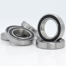 【10PCS】 6804-2RS 6804RS Deep Groove Rubber Shielded Ball Bearing (20mm*32mm*7mm)