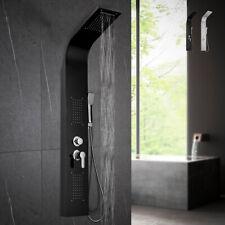Pannello colonna doccia in acciaio con miscelatore idromassaggio cascata doccino