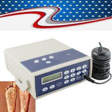Professional Detox Ionic Foot Bath Spa Cell Cleanse Machine Infrared Fir Belt