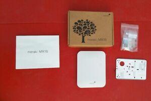 Cisco Meraki MR16 Wireless Access Point  WiFi AP PoE: No  License