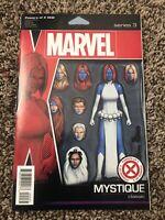 Marvel Comics Powers Of X #2, 3, 4, 6 Figure Variant 2019 Lot 1st Print NM