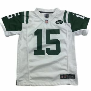 NEW YORK JETS NIKE NFL Football Jersey #15 Tim Tebow Boys Kids Shirt Medium EUC