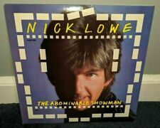 Nick Lowe - The Abominable Snowman Lp 1983 Artista Records Vg+ vinyl