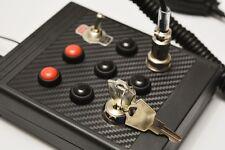 ALMAR SKRS Button Box urządzenie sterujące do gier STACYJKA + CB RADIO