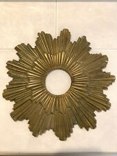 """Antique Maison Bagues Canopy Ceiling Chandelier Sun Burst Starburst Bronze 9"""""""
