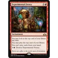 1x EXPERIMENTAL FRENZY - Guilds of Ravnica - MTG - NM - Magic the Gathering