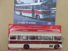 n° 65 CITROEN Type 60 HEULIEZ  année 1962  Autobus et Autocar du Monde 1/43 neuf