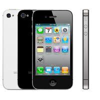 Apple iPhone 4/4S - 8GB - 16GB - 32GB - 64GB - Black/White  (UNLOCKED/SIM FREE)