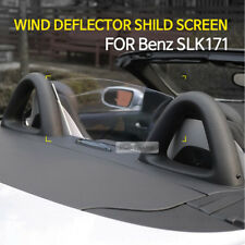 Clear Wind Deflector Wind Screen Blocker With AMG Sticker Decal for SLK R171
