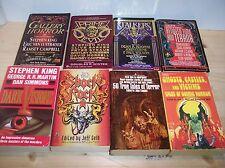 Horror Fest ! Lot of 8 Horror Anthologies ! 181 Stories ! King, Barker, Koontz +