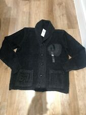 BNWT Authentic Ralph Lauren Indian SHAWL Chunky Cardigan Size M RRP: 370 £