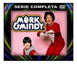 Mork & Mindy - 4 DVD ITA -  SERIE COMPLETA :reg.con aquisto cartolina-SPED.FREE