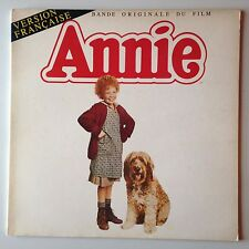 DISQUE 33T B.O FILM ANNIE // RALPH BURNS // VERSION FRANCAISE