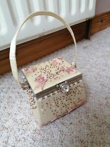 Vintage evening clutch bag