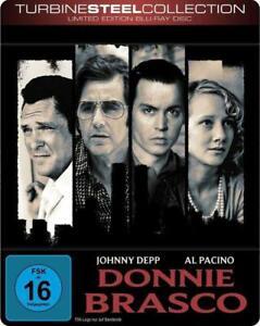 Donnie Brasco [Limited Steelbook  auf 1500 St.][Blu-ray/NEU/OVP] Al Pacino, Joh