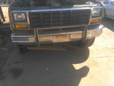 Front Bumper Chrome With Pad Fits 80-86 BRONCO 820650