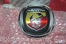 FIAT GRANDE PUNTO ABARTH STEMMA SIGLA LOGO BADGE EMBLEM ORIGINALE 735461668 NEW!