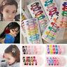 10Pcs/set Kawaii Candy Color Kids Girl Hairpin BB Snap Hair Clips Hair Accessory