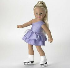 New Madame Alexander ~ Jazzy Ice Skater ~ 18 inch Doll in Lavender
