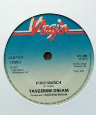 """TANGERINE DREAM - 7"""" Vinyl - Encore / Hobo March - 1977 -  Virgin"""