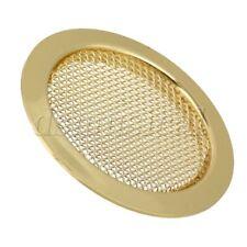 6cm Alloy Dobro Guitar Resonator Soundhole Cover Music Speaker Grille Gold