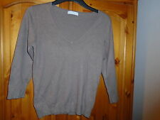 Marks and Spencer 3/4 Sleeve V Neck None Women's Jumpers & Cardigans