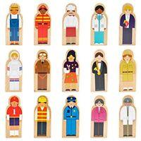 Little Professionals Wooden Career Character Set