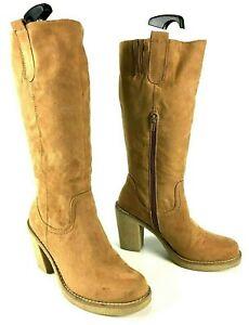 Graceland Damen Stiefel Boots Absatz Damenschuhe EUR 38 #QA1 238