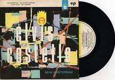 """ELVIS COSTELLO AND THE ATTRACTIONS - NEW AMSTERDAM 7"""" E.P RECORD w PICT SLV 1980"""